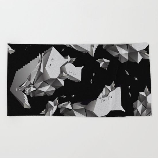 singularity Beach Towel