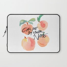 Call Me By Your Name - Peaches Laptop Sleeve