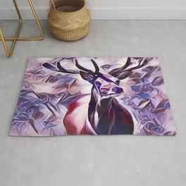 Powerful Adult Deer Rug
