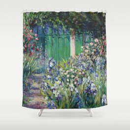 Monet's Door — Giverny, France Shower Curtain