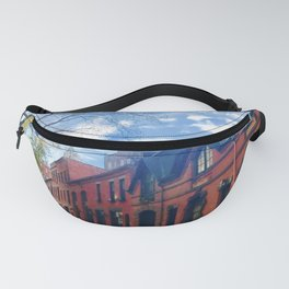 STOP For Brooklyn Heights Brownstone Red Brick Love Fanny Pack