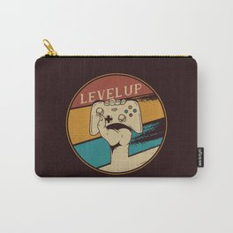 Level Up Vintage Gaming Carry-All Pouch