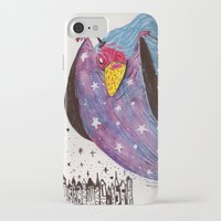 wizard iPhone & iPod Cases featuring Wizard by Giang Di Penguin