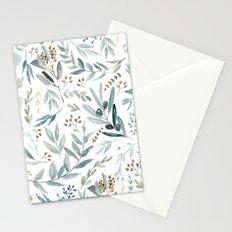 Eucalyptus pattern Stationery Cards