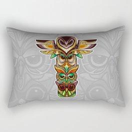 Owl totem Rectangular Pillow