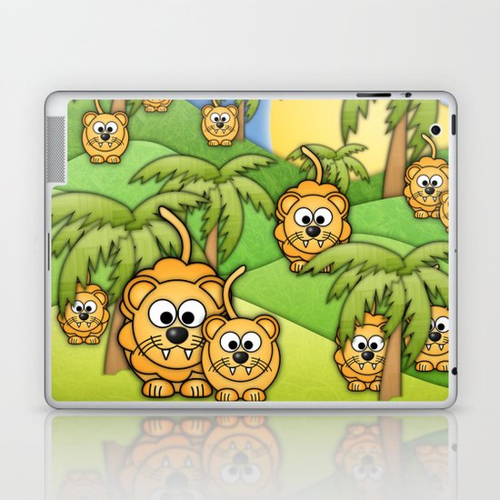 Little Lions. Laptop & iPad Skin
