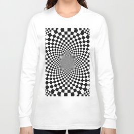 Vertigo Optical Art Long Sleeve T-shirt