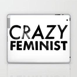 Crazy Feminist Laptop & iPad Skin
