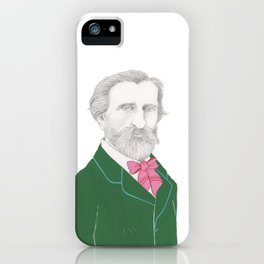 Giuseppe Verdi iPhone Case