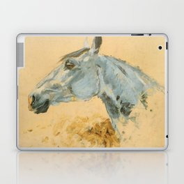 "Henri de Toulouse-Lautrec ""White Horse 'Gazelle'"" Laptop & iPad Skin"
