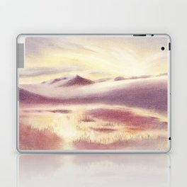 Sunrise in Scandinavia Laptop & iPad Skin