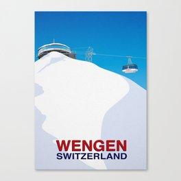 Wengen Canvas Print