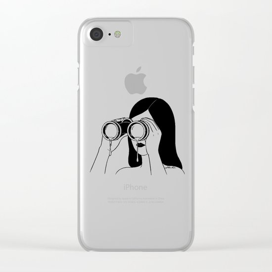 You're so far away Clear iPhone Case