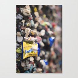 A Cool Gross Bubblegum Alley San Luis Obispo Canvas Print