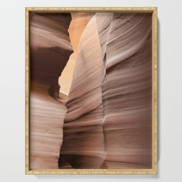 Movement in Lower Antelope Canyon Serving Tray