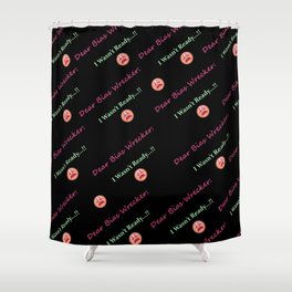 K-Poppin': Bias II Shower Curtain