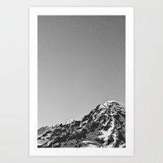 Mountain Simplicity  Art Print