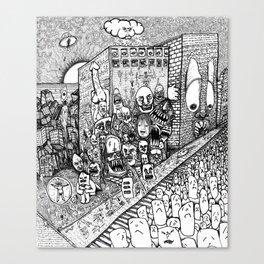 Psychological Dump Canvas Print