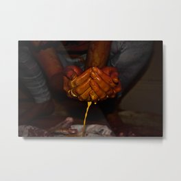 Leaking Creativity Metal Print