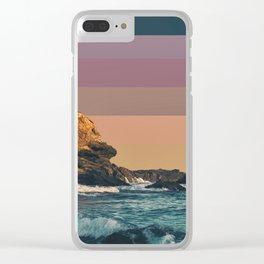 Colorscape VII Clear iPhone Case