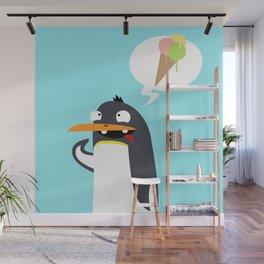 Craving Penguin Wall Mural