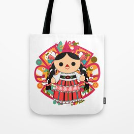 Maria 4 (Mexican Doll) Tote Bag