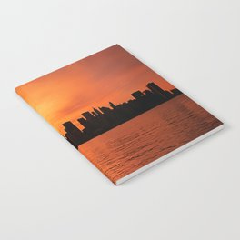 Twin Towers Summer Sky Notebook