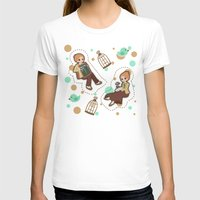bioshock infinite T-shirts featuring Bioshock Infinite - Luctece Twins by Choco-Minto