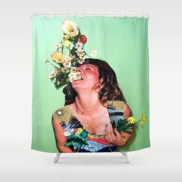 HAHAHA #2 Shower Curtain