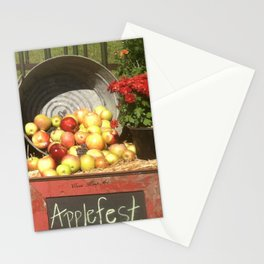 Apple Fest Stationery Cards