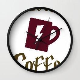 ACCIO COFFEE T-SHIRT Wall Clock