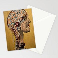 Human Brain  Stationery Cards