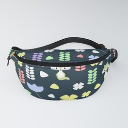 Cute foxes, flowers and more Fanny Pack