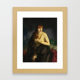Nude with Red Hair 1920 by George Bellows Framed Art Print