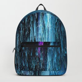 Abstract Electro Two Backpack