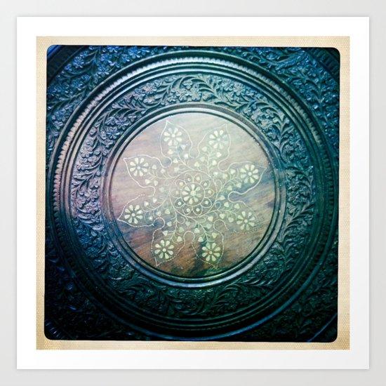 Round Art Art Print
