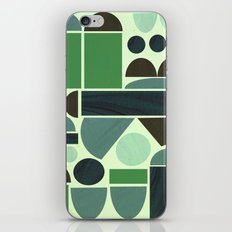 Town Hall (Green) iPhone & iPod Skin