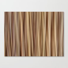 Brown Stripes Canvas Print