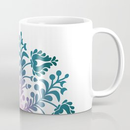 HUNGARIAN TULIP Heart-chakra mandala for femininity Coffee Mug