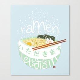 Ramen. Canvas Print