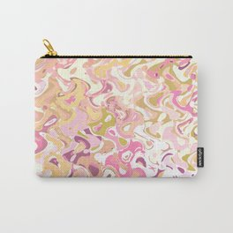 Little princess pink world, abstract pinkish shapes Carry-All Pouch