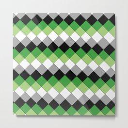 Aro (pattern) Metal Print