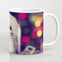 santa Mugs featuring Santa by ThePhotoGuyDarren