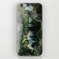 lake iPhone & iPod Skins featuring Rainier Eunice Lake by Kevin Russ