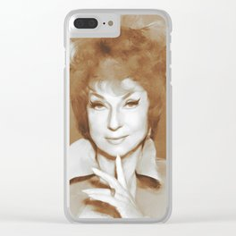 Agnes Moorehead, Hollywood Classics Clear iPhone Case