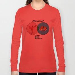 Venn Diagram for Ross Geller Long Sleeve T-shirt