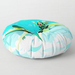 Flight Floor Pillow