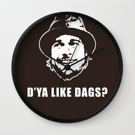 D'YA Like DAGS? Wall Clock