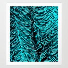 Turquoise Twosome Art Print