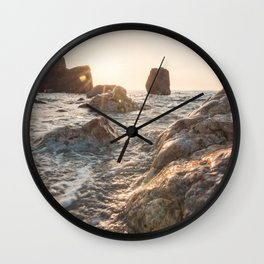 Sicily... your beauty will save you Wall Clock